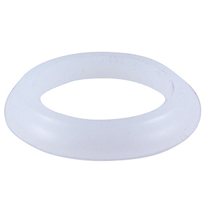 "Plastic Slip Joint Reducer Washer 1-1/2"" x 1-1/4"""