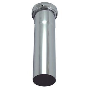 """Slip Joint Extension Tube 1-1/2"""" x 12"""" 22 Gauge"""