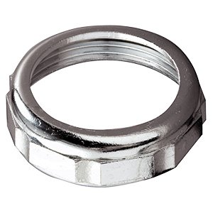 Metal Chrome Slip Joint Nuts 1-1/4""