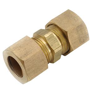 "1/4"" Brass Compression Union"