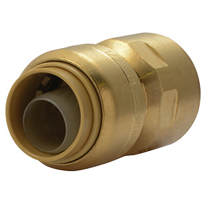 "SharkBite Female Connector 1/2"" Push-Fit x 1/2"" FIP"