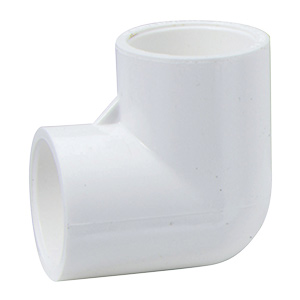 "PVC Sch 40 90 Degree Elbow 3/4"""