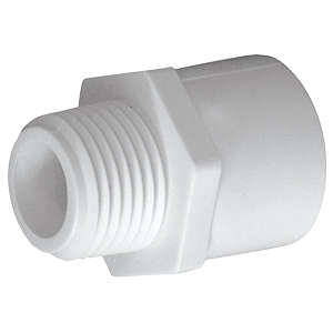 PVC Sch 40 Male Adapter 3/4""