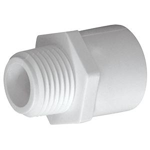 "PVC Sch 40 Male Adapter 3/4"""