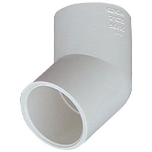 "PVC Sch 40 45° Elbow 3/4"""
