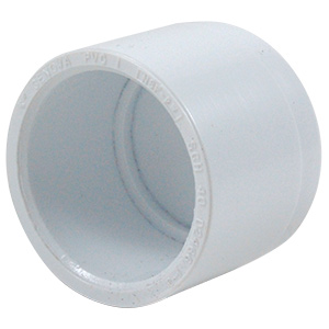 "PVC Sch 40 Slip Cap 3/4"""