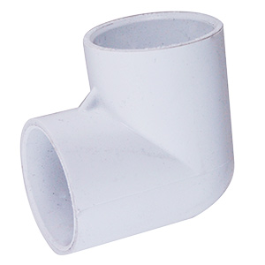 PVC Sch 40 90 Degree Elbow 1-1/2""