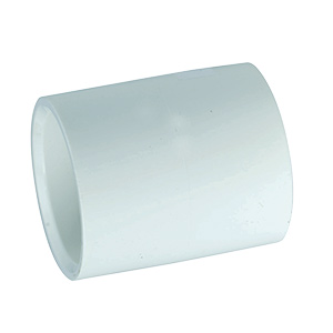 "PVC Sch 40 Slip Coupling 1-1/2"""
