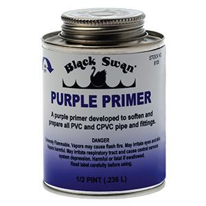 Purple PVC Primer 8 oz