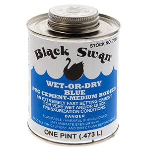 Wet And Dry PVC Cement 16 oz