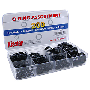 O-Ring Assortment Kit 200 Pieces