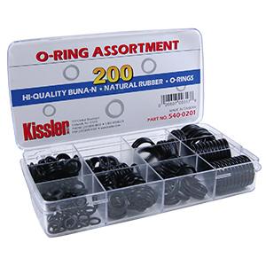 O-Ring Assortment Kit 200 Pieces