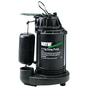 1/3 HP Submersible Sump Pump