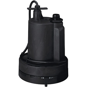 Simer Portable Submersible Utility Pump 1/4 HP
