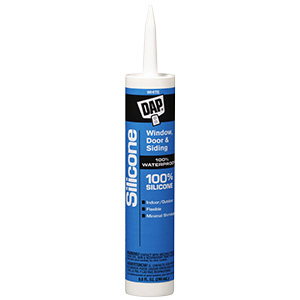 Dap Window and Door Silicone Caulk White 9.8 oz