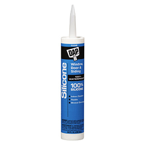 Dap Window and Door Silicone Caulk Clear 9.8 oz