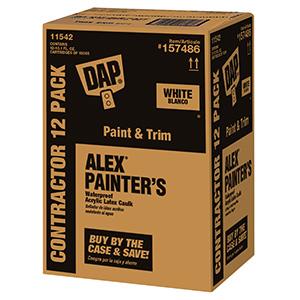 Dap ALEX Painter's Caulk White 10.1 oz
