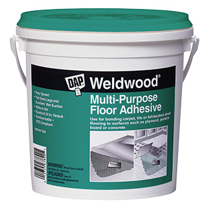 Weldwood Multi-Purpose Floor Adhesive Quart
