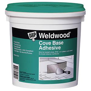 Weldwood Cove Base Adhesive Quart