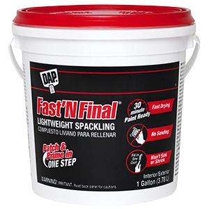 Fast 'n Final Lightweight Spackling Gallon