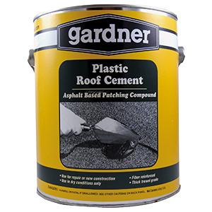 Gardner Plastic Fiber Reinforced Roof Cement
