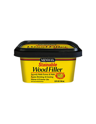 Minwax Stainable Natural Wood Filler 32 Oz