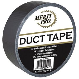 "2"" Grey Duct Tape 60 Yard Roll"