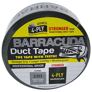 Barracuda Silver Weatherproof Duct Tape