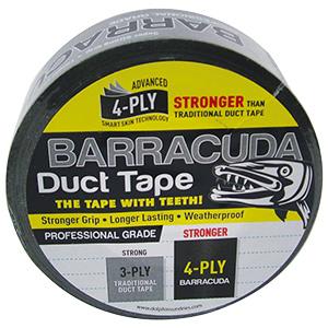 Barracuda Silver Weatherproof Duct Tape
