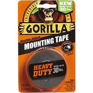 Gorilla Glue Heavy-Duty Double-Stick Mounting Tape