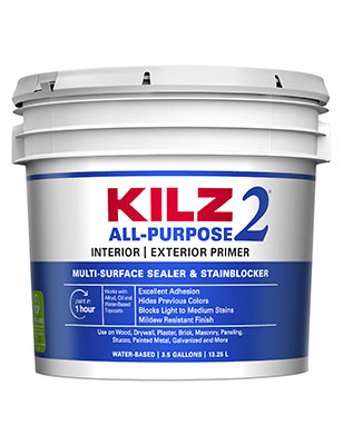 Kilz 2 Water-Based Latex Primer-Sealer, 3.5 Gallon