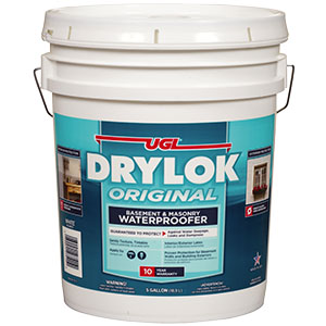 UGL Drylok Original Waterproofer White Latex 5-Gal