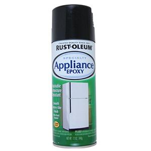 Rustoleum Appliance Epoxy Spray Paint Black