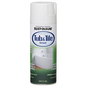 Rustoleum Epoxy White Tub & Tile Spray Paint