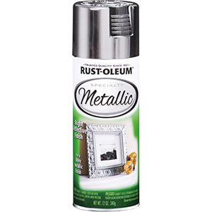 Rustoleum Specialty Metallic Spray Paint Metallic Silver