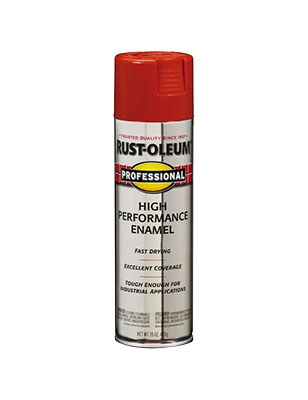 Rustoleum Pro Safety Red Spray Paint 15 oz