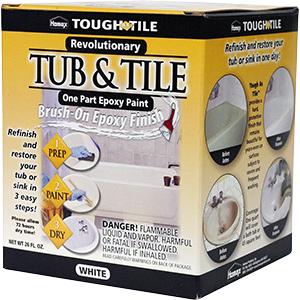 Tub & Tile Brush or Roll-On Epoxy Finish 26 oz