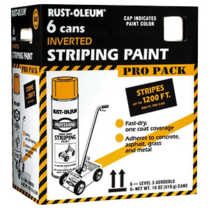 Rustoleum White Stripping Paint 15 oz Case of 6