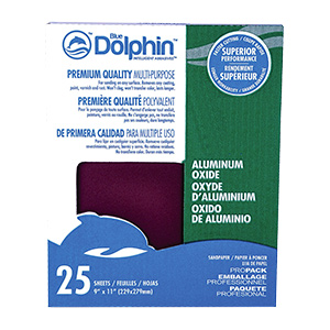 Dolphin Aluminum Oxide Sandpaper