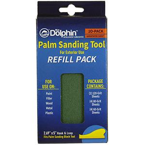 Dolphin Drywall Sanding Tool Refill 10/Pk