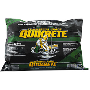 Quikrete Permanent Blacktop Repair