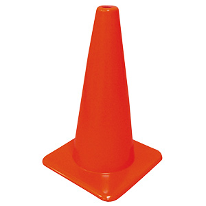 "Traffic Safety Cone 18"" High"