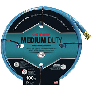 "Garden Hose Medium -Duty 5/8"" x 100 Ft"