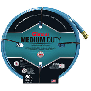 "Garden Hose Medium-Duty 5/8"" x 50 Ft"