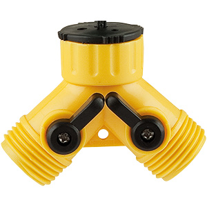 "Garden Hose Connector ""Y"""