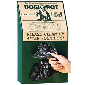 DOGIPOT Junior Bag Dispenser Aluminum