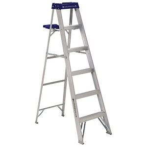 Aluminum Step Ladder 8 ft