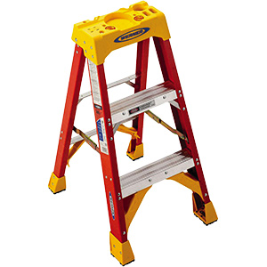 Fiberglass Step Ladder 3 Ft
