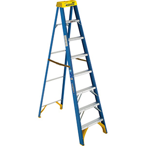 Fiberglass Step Ladder 8 Ft