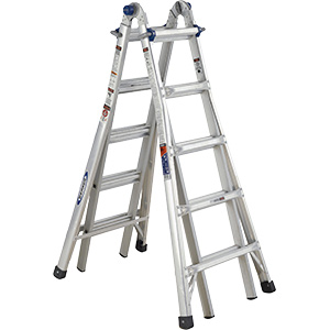 Aluminum Multi-Purpose Ladder 22 Ft